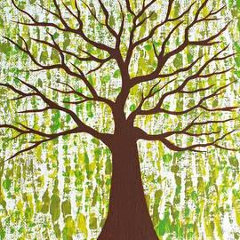 JoNeL Art  - Matrixing Tree Series The Elemental Earth
