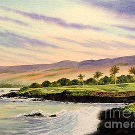 Bill Holkham - Mauna Kea Golf Course Hawaii Hole 3