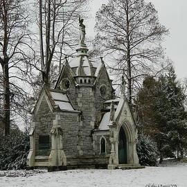 Kathy Barney - Mausoleum in Winter