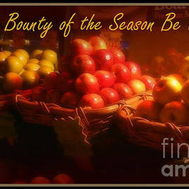 Miriam Danar - May the Bounty of the Season Be Upon You - Apples