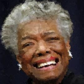Samuel Majcen - Maya Angelou Portrait