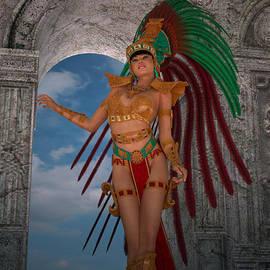Stefan Bongaerts - Mayan girl
