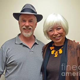 Jim Fitzpatrick - Mayor of So San Francisco Karyl Matsumoto and Me