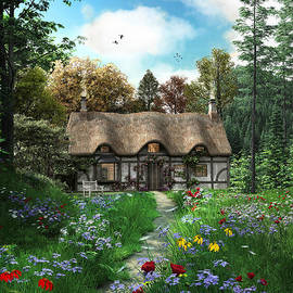 Meadow Cottage - Fine Art