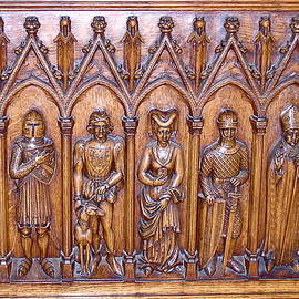 France  Art - Medieval Wood Carving 1
