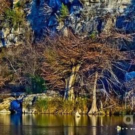 Michael Tidwell - Medina River at Comanche Cliffs