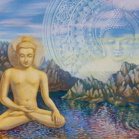 Dominique Amendola - Meditation on  Buddha