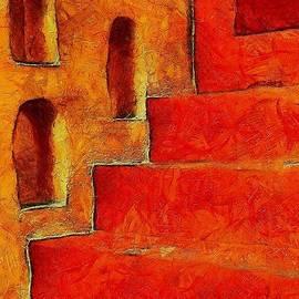 Gun Legler - Mediterrainian stairs