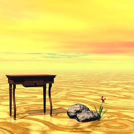 Sipo Liimatainen - Meeting on plain - Surrealism