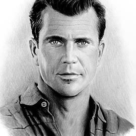 Andrew Read - Mel Gibson bw