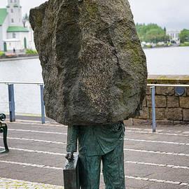 Matthias Hauser - Memorial to the Unknown Bureaucrat sculpture