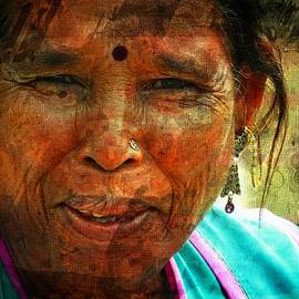 Sue Jacobi - Memories Nostalgia - Woman Portrait Rajasthani India Udaipur