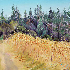 Asha Carolyn Young - Mendocino High Grass Meadow at Susan