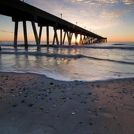 Chris Zachary - Mercers Pier Sunrise - Wrightsville Beach North Carolina