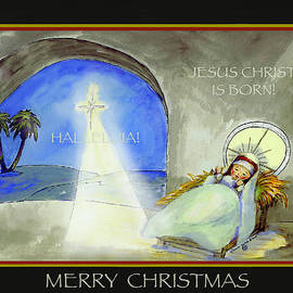 Glenna McRae - Merry Christmas Jesus Christ is Born