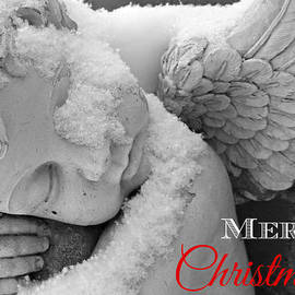 Brenda Conrad - Merry Christmas Snow Angel Card