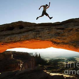 Bob Christopher - Mesa Arch Midair