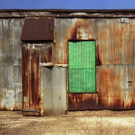 Greg Kluempers - Metal Shed with Fiberglass Panel