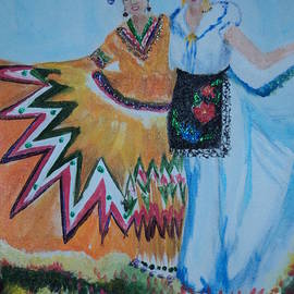 Linda Lin - Mexican Folk Dancer