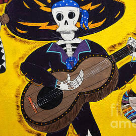Bob Christopher - Mexican Skeleton Folk Art