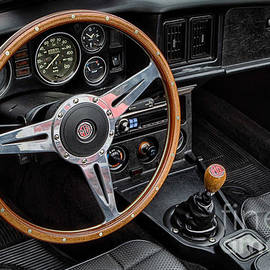 Jerry Fornarotto - MG Midget Interior