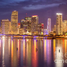 Rene Triay Photography - Miami Coming Alive at Dusk