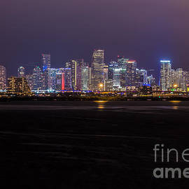 Rene Triay Photography - Miami Skyline Bay View