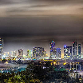 Rene Triay Photography - Miami Skyline-The Mystical City HDR
