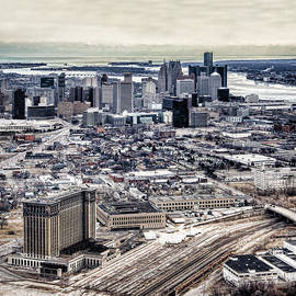 Cindy Lindow - Michigan Central Station and Detroit