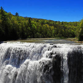 Paul Ge - Middle Waterfalls In Letchworth State Park