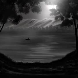 Steve Hermann - Midnight on the Lake