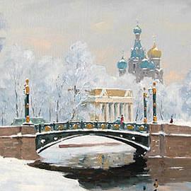 Alexander Alexandrovsky - Mikhailovsky Garden. Bridge