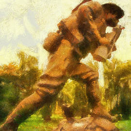 Thomas Woolworth - Military WW I Doughboy 01 Photo Art