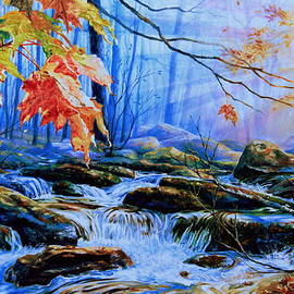 Hanne Lore Koehler - Mill Creek Autumn Sunrise
