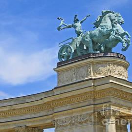Ann Horn - Millennium Monument Budapest