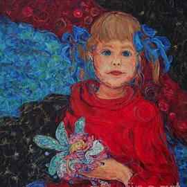 Anna Yurasovsky - Mimi with Her Thumbelina Doll