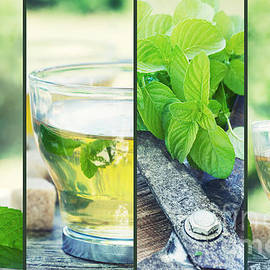 Mythja  Photography - Mint tea collage