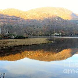 David Grant - Mirror Image on Loch Lubhair