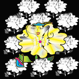 Iris Gelbart - Miss Flower