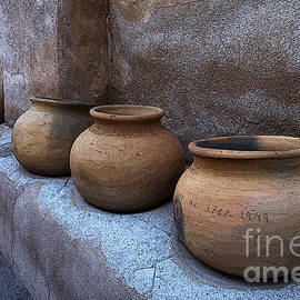Bob Christopher - Mission San Jose De Tumacacori Pottery