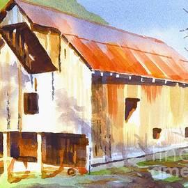 Kip DeVore - Missouri Barn in Watercolor