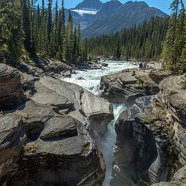 Art Calapatia - Mistaya Canyon in Banff Alberta