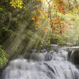 Debra and Dave Vanderlaan - Misty Falls at Coker Creek