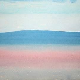 Sol Luckman - Misty Lake original painting