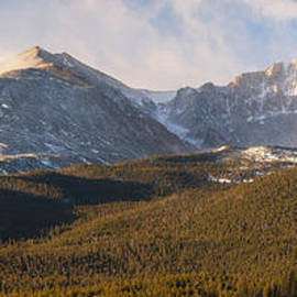 Aaron Spong - Misty Longs Peak Sunrise