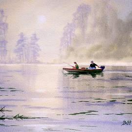 Bill Holkham - Misty Sunrise On The Lake