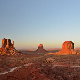 Christine Till - Mittens and Merrick Butte Monument Valley