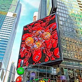 Geraldine Scull   - MM building in New York City