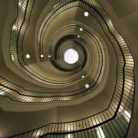 Jaroslaw Blaminsky - Modern spiral staircaise