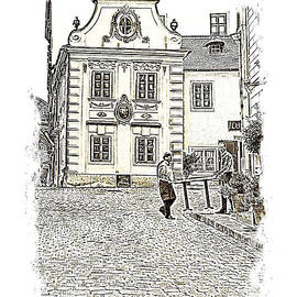 Menega Sabidussi - Moelker Bastei a Picturesque Corner in Vienna